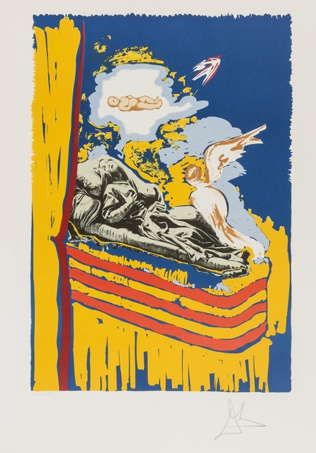 Salvador Dalí, 'Tarot. The Immaculate Conception (M&L 1570; Field 79-12)', 1979, Forum Auctions