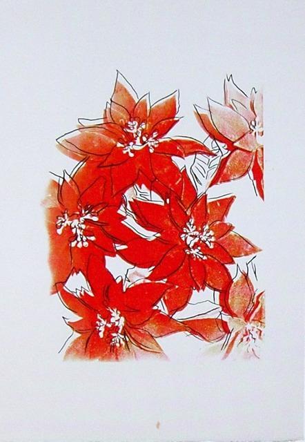 , 'Poinsettias,' ca. 1983, Hamilton-Selway Fine Art