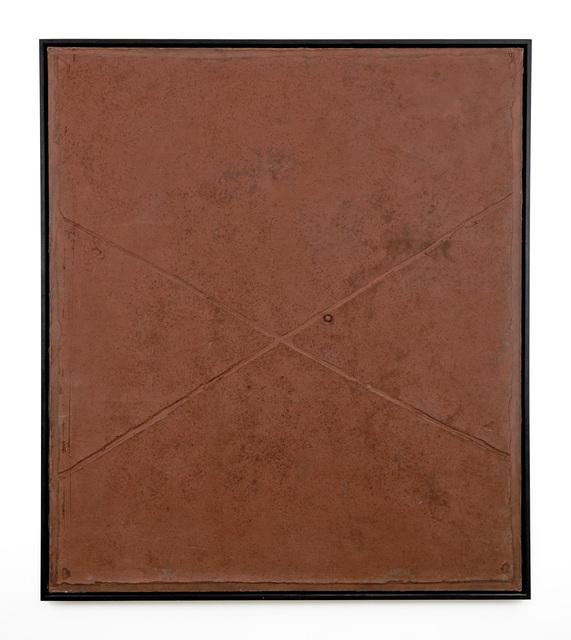 , 'Cross on Brown,' 1960, Ben Brown Fine Arts