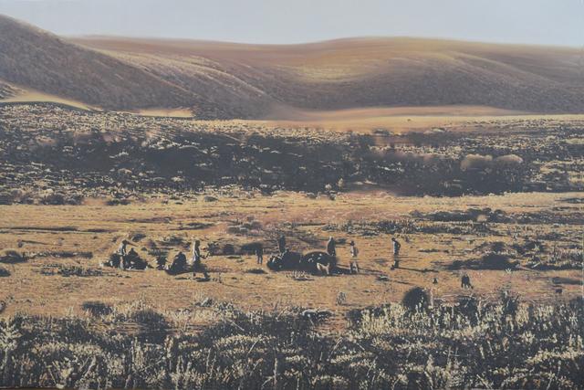 , 'Mountain Stories 2,' 2014, C.A.M Galeri