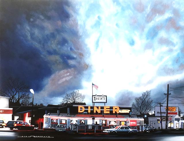 Alain Bertrand, 'Rosie's diner', 2017, Galerie Artefact