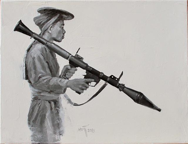 , 'Le Tirailleur d'Annamite,' 2015, Art Vietnam Gallery