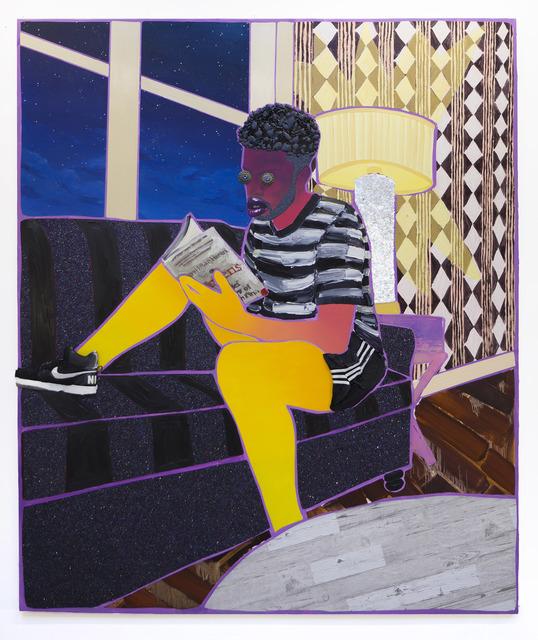 , 'Evening Reader,' 2019, De Buck Gallery