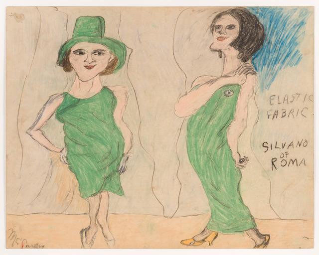 , 'Elastic Fabric,' ca. 1960, Fleisher/Ollman
