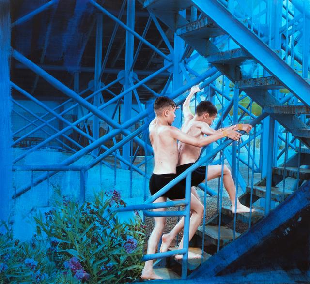 Eva Blanch, 'Azul gemelos', 2019, N2 Galería