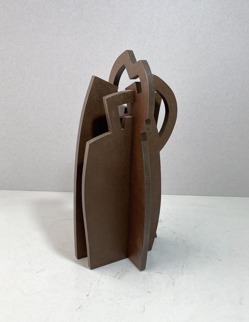 Iñigo Arregi, 'La austeridad de la esbeltez', 2021, Sculpture, Patinated corten steel, Victor Lope Arte Contemporaneo