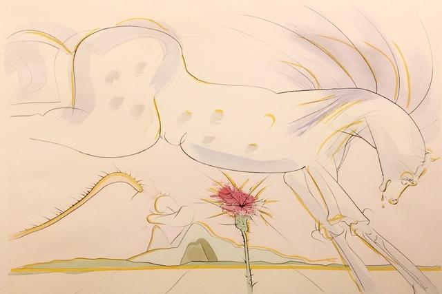 , 'le Cheval et le Loup ,' 1974, AFA Gallery