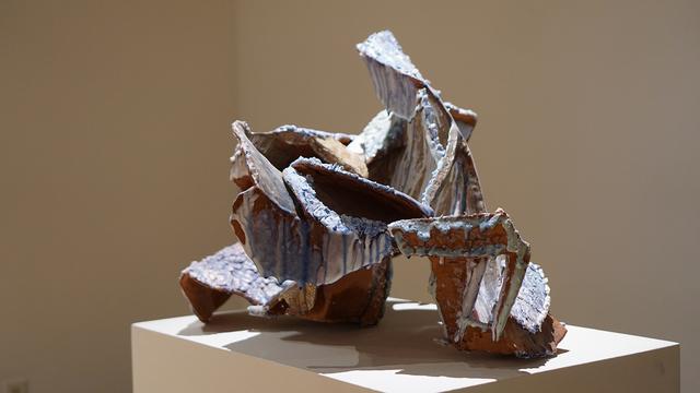 YehRim Lee, 'Cross-Continental (con)Fusing: The Space Between', 2018, Sculpture, Terracotta, pyrometic cone glaze, 04 glaze, resin, InLiquid