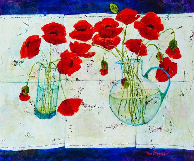 , 'Poppies,' 2018, Catto Gallery