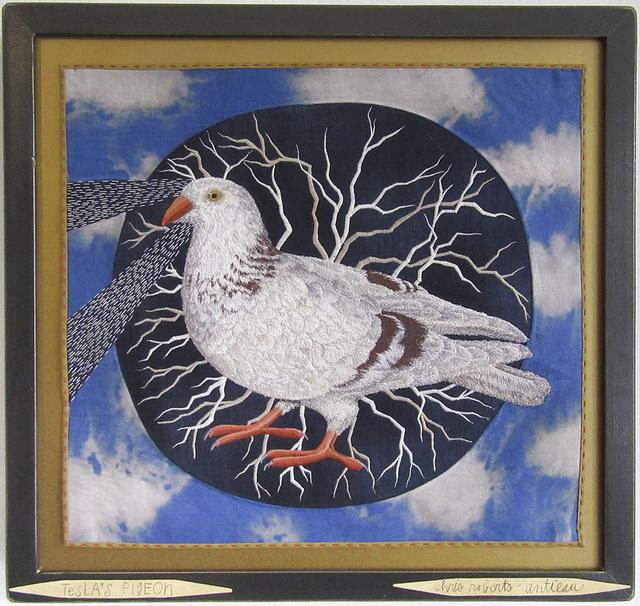 , 'Tesla's Pigeon,' 2017, Antieau Gallery