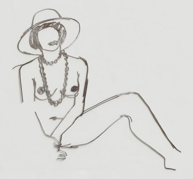 , 'Partial Monica with Hat and Beads,' 1985-1990, Alan Cristea Gallery