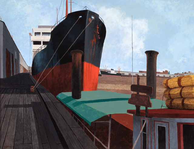 , 'Port of New Orleans,' ca. 1959, Mac-Gryder Gallery