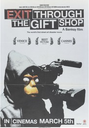 Forgive Us Our Trespassing, promotional poster for Exit Through the Gift Shop