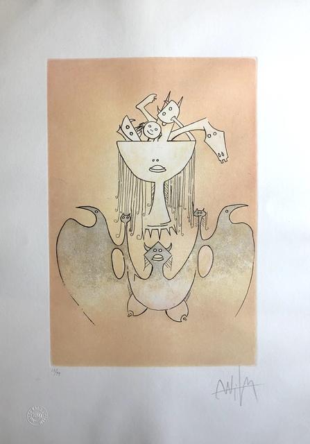 Wifredo Lam, 'La Monde Magique de la Fertilité (The Magic World of Fertility)', 1980, Print, Lithograph on Arches paper, Discoveries in Art