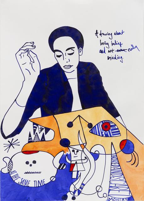 , 'Often Times It's Hard to Care.,' 2018, Rebecca Hossack Art Gallery