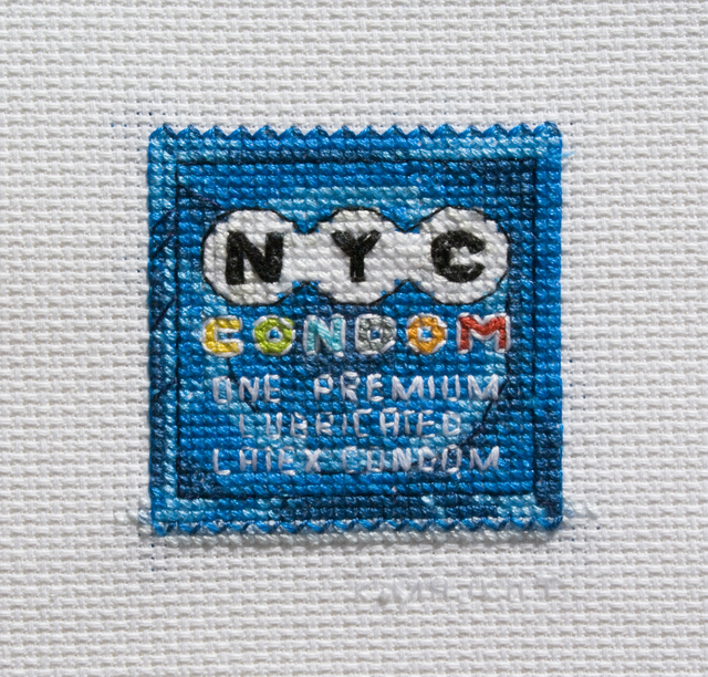 , 'Condom NYC,' 2017, VICTORI+MO CONTEMPORARY