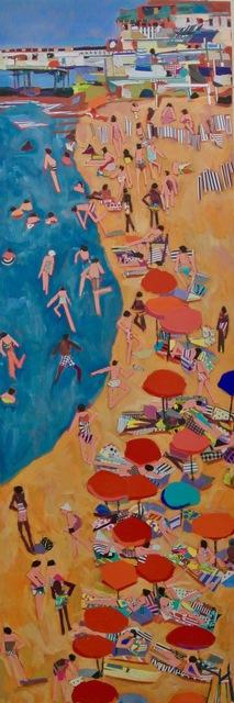 ", 'Praia da Pura  30x10"" $1500,' , Water Street Gallery"