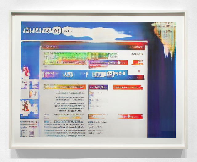 Jason Salavon, 'Narrative Frame (Websites 2)', 2019, Print, Archival pigment print, Inman Gallery