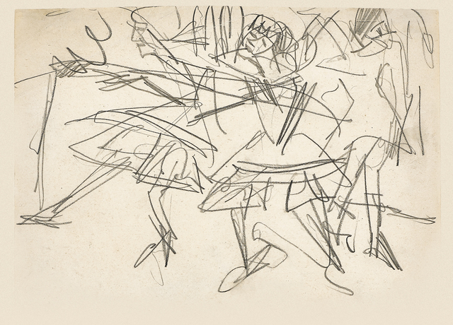 , 'Tanzende (Dancers),' ca. 1912, Galerie Herold