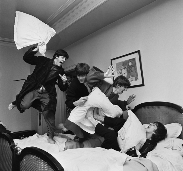 , 'Beatles Pillow Fight, George V Hotel, Paris,' 1964, Contessa Gallery