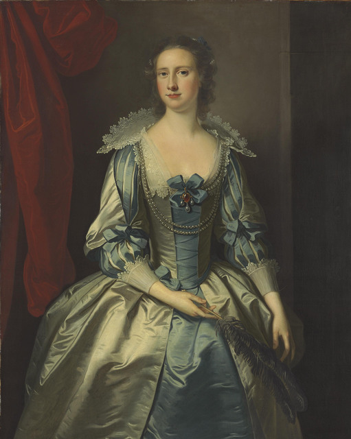 , 'Portrait of a lady, possibly Mrs. Fryer, three-quarter-length, holding a feather,' , Christie's Old Masters