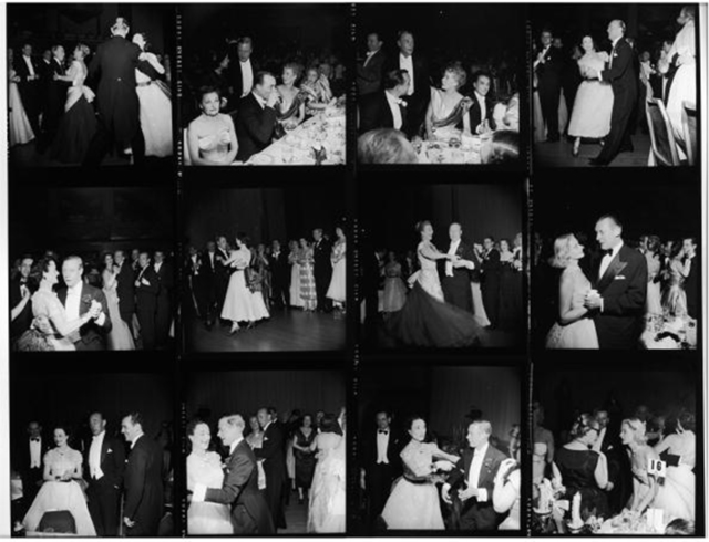 , 'Windsors Dancing in NY, 1953: The Duke and Duchess of Windsor, Constance Carpenter, Milton 'Doc' Holden, C.Z. Guest, and other guests at the Waldorf Astoria,' 1953, Staley-Wise Gallery