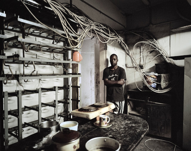 Mikhael Subotzky, 'Old electricity supply room, Ponte City', 2008, Goodman Gallery