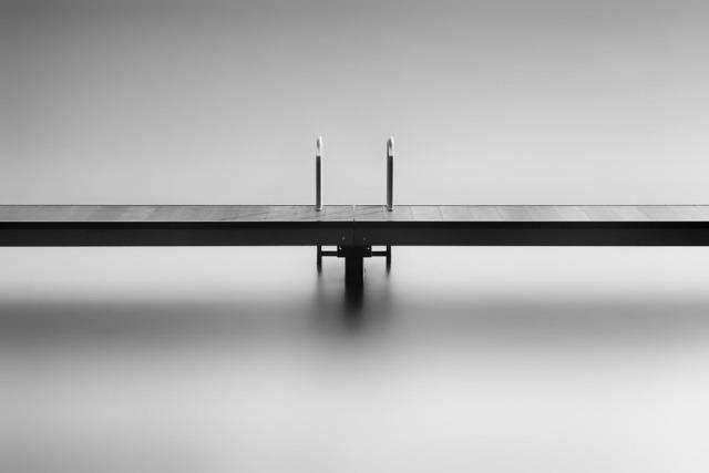 Frank Peters, 'Study of a bathing jetty I', 2019, Online Galerij