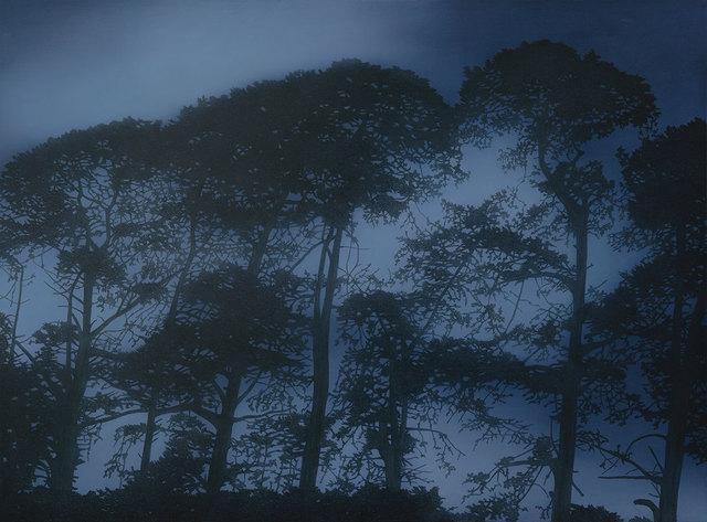, 'Silhouette Pines,' 2018, Flinders Lane Gallery