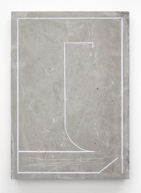 , 'Plan (Magnet),' 2015, Vigo Gallery