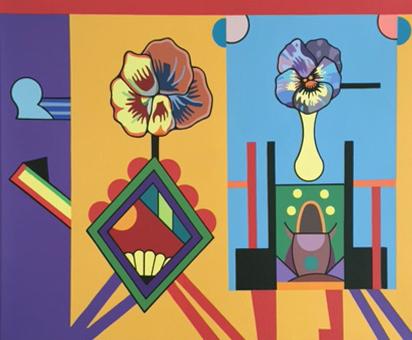 , 'Podium Blooms,' 2014, Tibor de Nagy