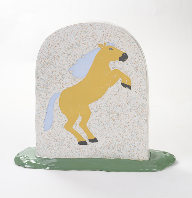 , 'Horse Tombstone,' 2017, Ochi Projects