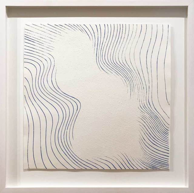 Günther Uecker, 'Welle blau', 1965, Galerie Kellermann
