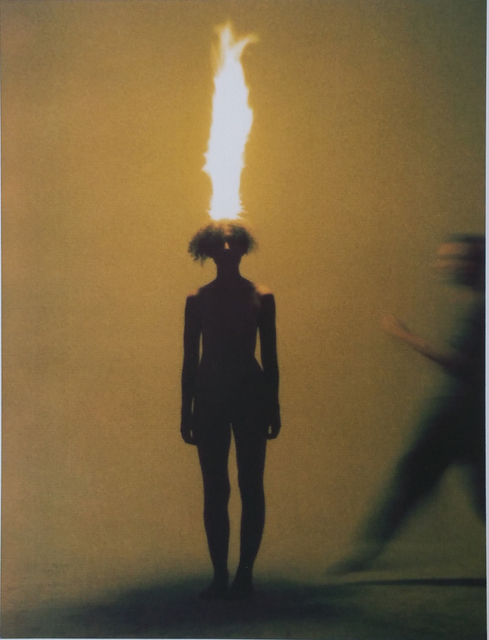 , 'The artist as combustible,' 1986, Galerie Laroche/Joncas