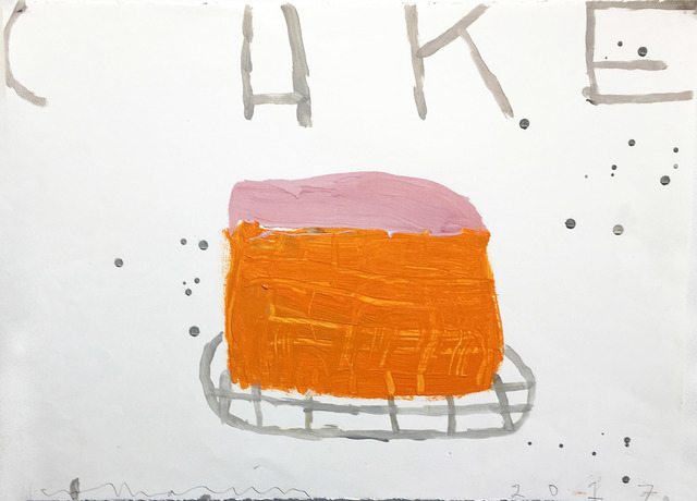 , 'Cake (Orange and Chocolate on Creme),' 2017, Madelyn Jordon Fine Art