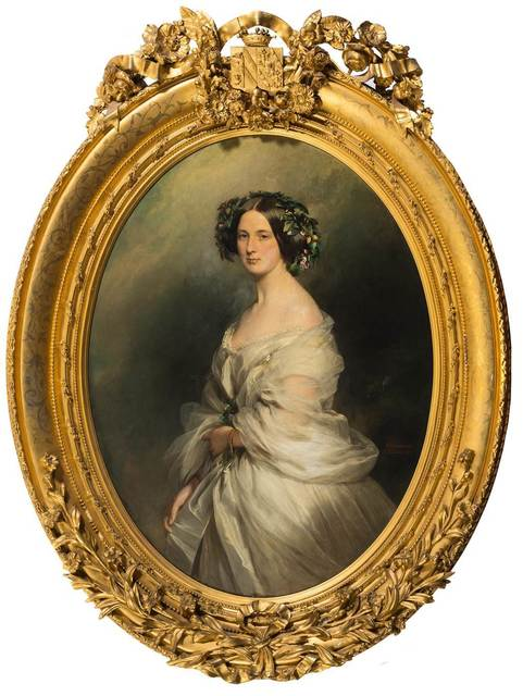 , 'A Portrait of a Lady (thought to be Therese Freifrau Von Bethmann, nee Freiin Vrints V Treuenfeld),' 1850, Robilant + Voena