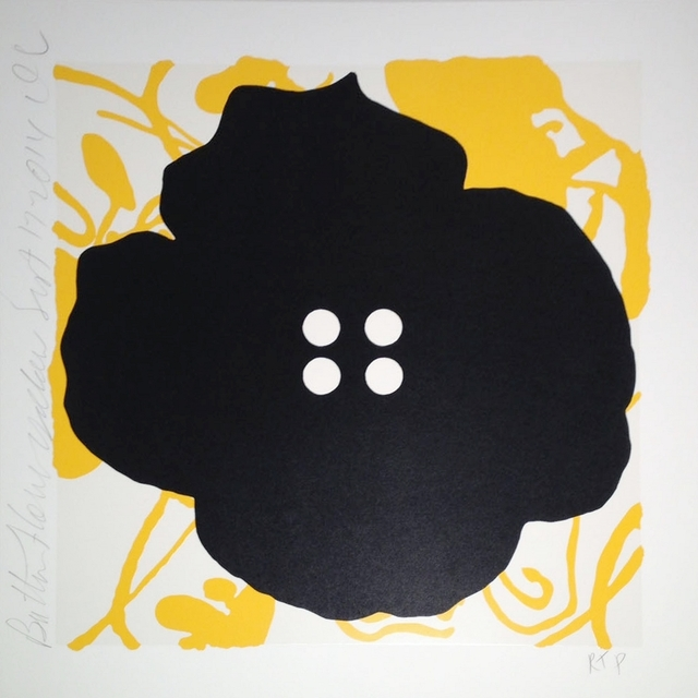 , 'Button Flower, Yellow, Sept. 17, 2014,' 2014, William Campbell Contemporary Art, Inc.
