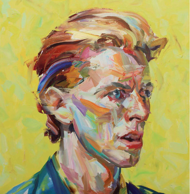 , 'Yellow Bowie ,' 2017, Maddox Gallery