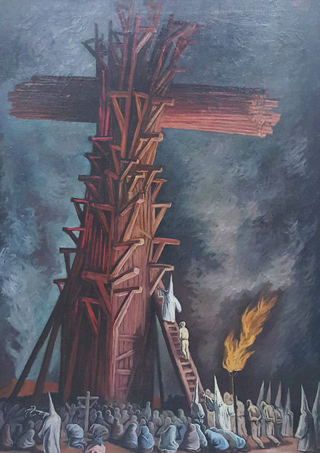 , 'Cruz de Horca,' 1943, GALERÍAS A. CRISTOBAL
