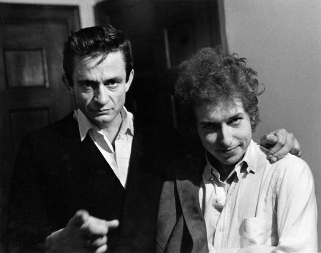 , 'Bob Dylan & Johnny Cash Backstage, New Brunswick, NJ,' 1965, TASCHEN