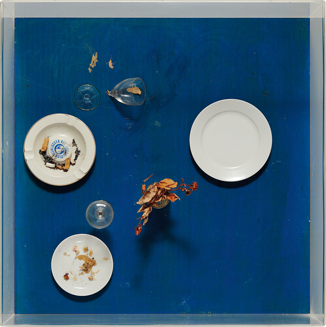 Daniel Spoerri | Tableau Piège (1972) | Artsy