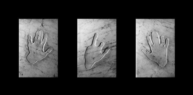 , 'Triptych Opus 25,' 2019, Kristin Hjellegjerde Gallery