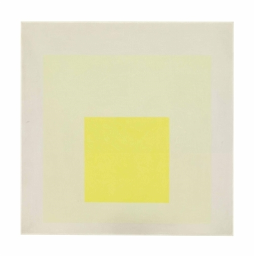 Josef Albers, 'Study for Homage to the Square: Light Resonance', Christie's