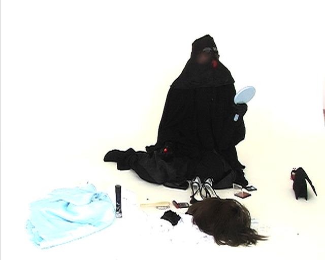 , 'Veiling and Reveiling,' 2009, Pi Artworks Istanbul/London