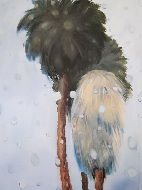 , 'Rainy Palms (Big),' 2018, CRUSHCURATORIAL