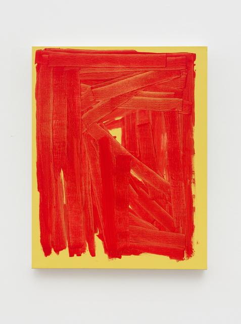 , 'RWH Red,' 2016, Pékin Fine Arts