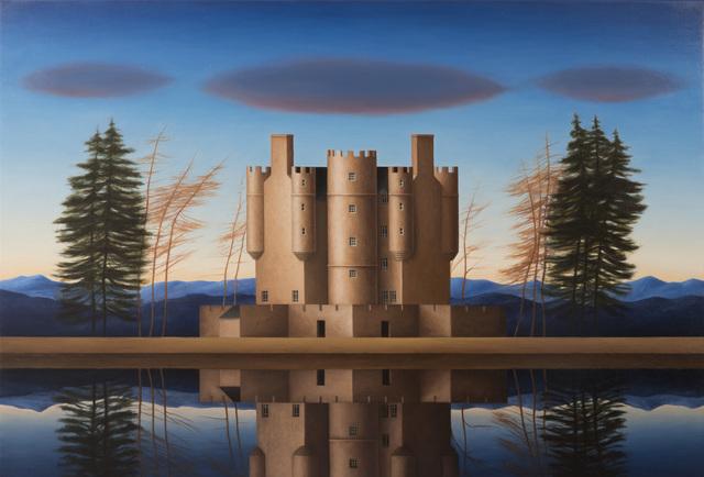 , 'Braemar Castle,' 2016, Flowers
