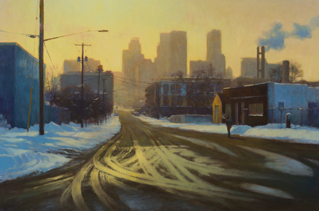 , 'Winter Warm Light,' 2017, Susan Calloway Fine Arts