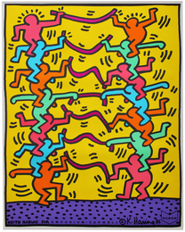 Keith Haring for Emporium Capwell