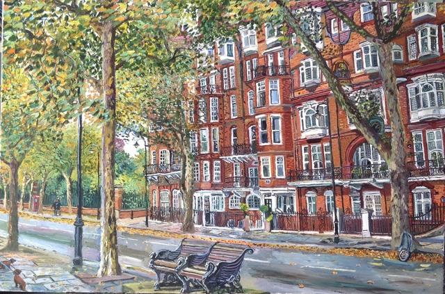 , 'Chelsea Embankment,' 2017, Robert Eagle Fine Art